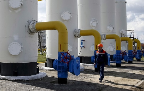 Украина сократила запасы газа