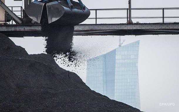 В Украине впервые за полтора месяца выросли запасы угля