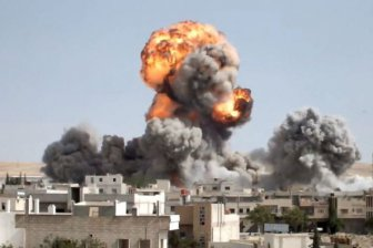Коалиция США атаковала проправительственные силы в Сирии