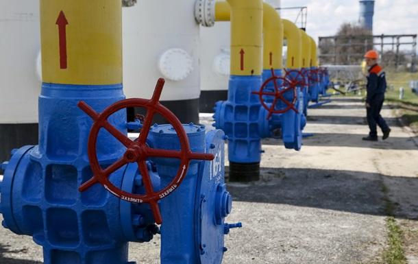 Украина снизила запасы газа в ПХГ наполовину